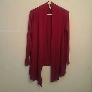 Sweaters - Red cardigan size m